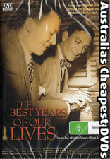 The Best Years Of Our Lives DVD  NEW, FREE POSTAGE WITHIN AUSTRALIA REGION ALL