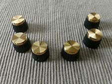 (1) NEW Gold Marshall Amp Replacement Knob w/ Set Screw  Ships from Texas