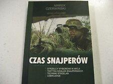 CZAS  SNAJPEROW  STRZELCY  WYBOROWI  W  AKCJI  MAUSER k98   POLISH BOOK  POLAND