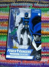 Hasbro  Power Rangers In Space Psycho Blue Ranger Lightning Collection