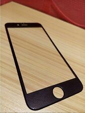 NEW BLACK CARBON FIBRE DESIGN TEMPERED GLASS SCREEN PROTECTOR - iPhone6plus 5.5""