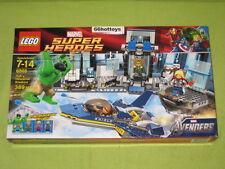 LEGO 6868 Marvel Super Heroes Hulk's Helicarrier Breakout NEW