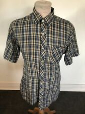 Cotton Blend Tailored Vintage Casual Shirts & Tops for Men