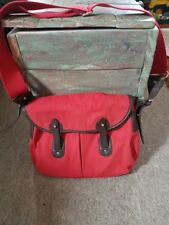French Connection red medium size cross body messenger bag handbag long strap