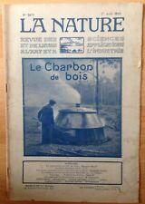 revue LA NATURE n° 2678 - 1er aout 1925 - Le charbon de bois