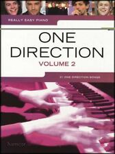 Really Easy Piano One Direction Volume 2 Sheet Music Book Midnight Memories Four
