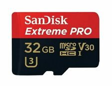 32GB SanDisk Extreme Pro SDXC Memory Micro SD Card U3 V30 4K GoPro DashCam Drone