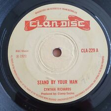 Cynthia Richards - Stand By Your Man 1970 UK 7in
