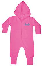 Baby & Toddler All-in-One Suit, Personalised, Embroidered Customised, Any name