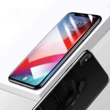 For iPhone Xs Max Premium Full Coverage Tempered Glass Screen & Back Protector