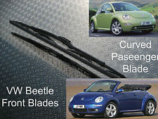 Front Wiper Blades VW New Beetle & Cabrio Convertible 1.4 1.6 1.8 T 2.0 1.9 TDi