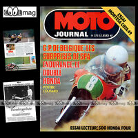 MOTO JOURNAL 275 MONTESA COTA 49 ENDURO JOSEF CISAR HONDA CB 500 FOUR 1976