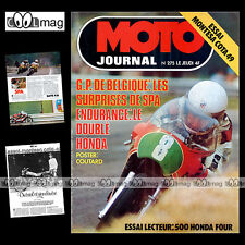 MOTO JOURNAL N°275 MONTESA COTA 49 ENDURO JIRI SODULKA HONDA CB 500 FOUR 1976
