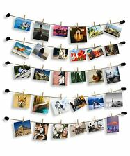 Hosom Hanging Pictures with String, Photo Hanging Display for Room Wall, Hang.