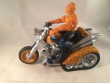 BEN GRIMM aka THE THING - ON MOTORBIKE FANTASTIC FOUR FULLY WORKING 2005 MARVEL