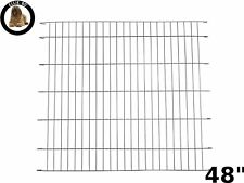 Ellie-Bo Divider for Dog Crate Cage, XX-Large, 48-Inch, Black