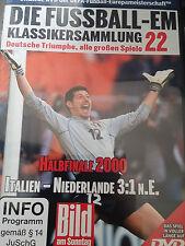 EM Fussball Klassikersammlung 22 Halbfinale 2000 Italien vs Holland Orig DVD