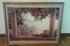 Large 30x24 Maxfield Parrish framed print DAYBREAK Pls Read Description