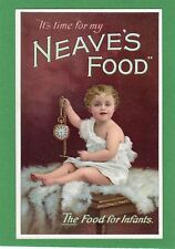 Neave's Food for Infants pocket watch Advertising pc unused Ref F374
