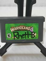 Warioland 4 Nintendo Game Boy Advance *Authentic & Saves* Wario Land