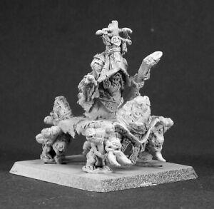 Reaper Miniatures Kurand the Everliving #14485 Bloodstone Gnomes Unpainted Mini