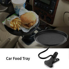Universal Black Car Swivel Mount Holder Travel Cup Coffee Table Stand Food Tray