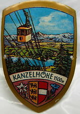Kanzelhohe used badge stocknagel hiking medallion mount G5139