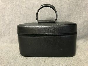 Authentic GUCCI Cosmetic Vanity Hand Bag Black