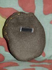 Panno copri borraccia tedesca M31 nuovo, German WW2 M31 Canteen wool cover new