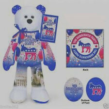 Democratic Party Plush Bear - FREE DELIVERY IN THE U. S. A.