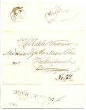 ENGLAND-NEDERLAND INCOMMING MAIL LONDON-REDIRECTED TO DELFT. POSTMARKS SEE >>>