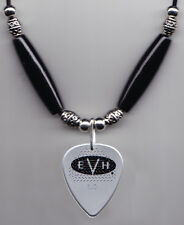 Eddie Van Halen Signature Evh Silver Guitar Pick Necklace 2015
