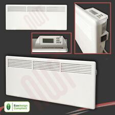 Nova Live S Electric White Panel Convector Heaters Radiators 1000w,1500w,2000w