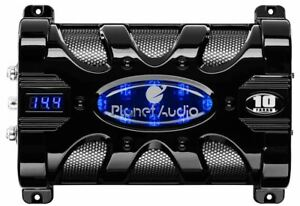 Planet Audio PC10F 10 Farad 20-Volt Digital LED Car Audio Power Capacitor Cap