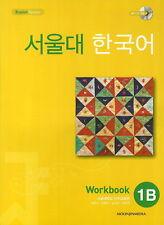 SNU Korean 1B Work Book (w/ MP3 CD) Korea Grammar Speaking Wrighting K pop