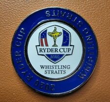 New listing 2020/2021 RYDER CUP (Whistling Straits) DUO GOLF BALL MARKER w/Removable Mark
