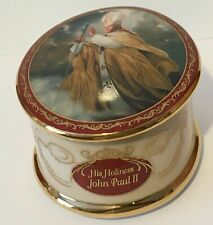 More details for limited no musical his holiness memorial rosary box collection by ralph w cowan