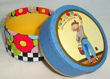 """Sweet Mary Engelbreit Cardboard Trinket Box, Anything Is Possible, 2.75"""""""
