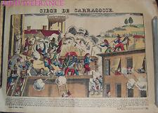 SIEGE DE SARAGOSSE - IMAGE D'EPINAL PELLERIN - NAPOLEON