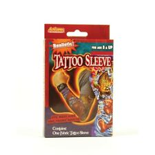 Realistic Fabric Tatoo Sleeve - Tattoo Fancy Dress One Kids Adults Accessory