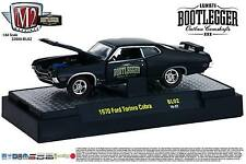 1:64 M2 Machines BOOTLEGGER BL02 = Black 1970 Ford Torino Cobra *NIB*