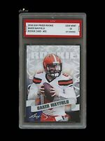 BAKER MAYFIELD 2018 / '18 LEAF PRIZED ROOKIE CARD 1ST GRADED 10 CLEVELAND BROWNS