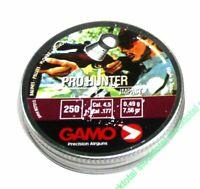 1000 Balines gamo Competición Pro-Hunter 4 Latas Metal 250 Unidades Calibre 4.5