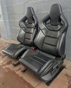 Audi TT, RS3, S3, R32, R8, TTRS RECARO HEATED WINGBACK BUCKET SEATS 3 DOOR TILT