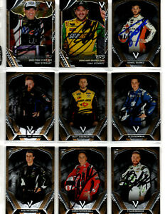 2018 Panini Victory Lane authentic autographed 45 card collection NO RESERVE
