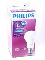 Philips 13w B22 220-240v Cool White 1400lm LED Bayonet Downlight Globe Ball bulb