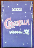 Cinderella, Churchill Theatre Programme 1993 Ronnie Corbett, Janet Brown