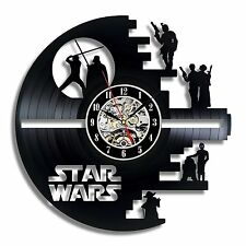 Star Wars Death Star_Exclusive wall clock made of vinyl record_GIFT