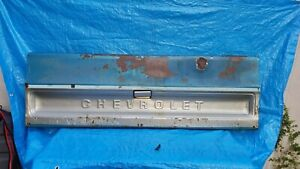 Straight 73-80 Chevrolet Chevy Pick Up Truck C 10 20 30 TAILGATE TAIL GATE OEM