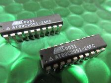 AT89C2051-24PU AT89C2051 MICROCONTROLLER IC ATMEL DIP-20 *X2 CHIPS* £2.49ea!